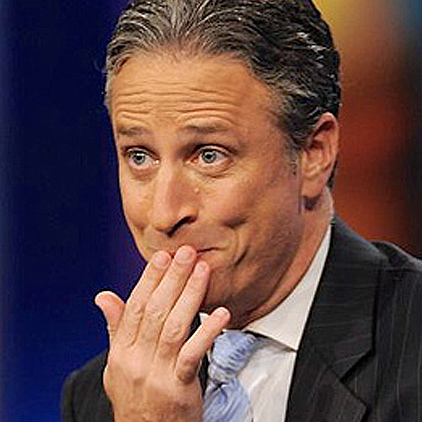 Jon Stewart – The world is his oyster.